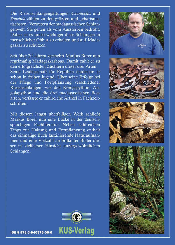 Markus Borer - Schlangenzüchter in der Schweiz